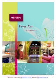 Press kit Mercure, March 2012 (2.3M) - Accor