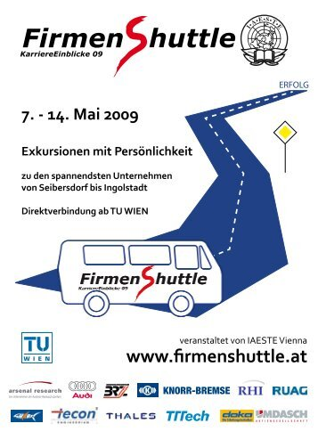 Firmen huttle - IAESTE Austria