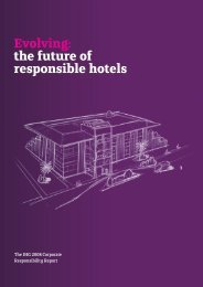 View our 2008 CR Report PDF (7.29Mb - InterContinental Hotels ...