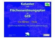 I. Winter, FA1b: Kataster und ... - GIS-Steiermark
