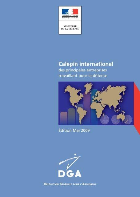 Le calepin international - Ministère de la Défense