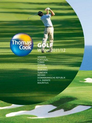 THOMAS COOK - Golf - Winter 2011/2012 - Letenky.sk