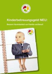Kinderbetreuungsgeld NEU: - Arbeitsmarktservice Österreich