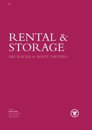 Rental & Storage - Thaler Systems