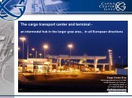 The cargo transport center and terminal - - polloco