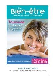 Mai 2012 - Salon Bien-être médecine douce & thalasso