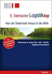 Von der Steiermark hinaus in die Welt - BVL