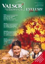 VALSER Service Exklusiv - text ... Stephanie Hugentobler