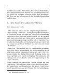Die Feier der Kindertaufe. Pastorale Einführung - Deutsches ... - Seite 7