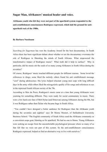 Sugarman-article-Barabara-Nussbaum
