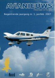 Ne gen tien de jaar gang nr. 1, jan/feb 2007 - Vliegsport Avia Noord
