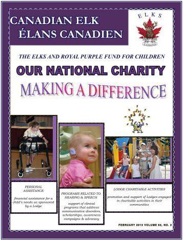 CANADIAN ELK ÉLANS CANADIEN - Elks of Canada