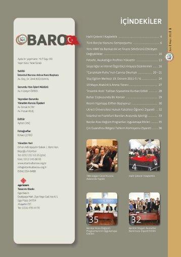 Baro Mayıs 2011 2 - İstanbul Barosu