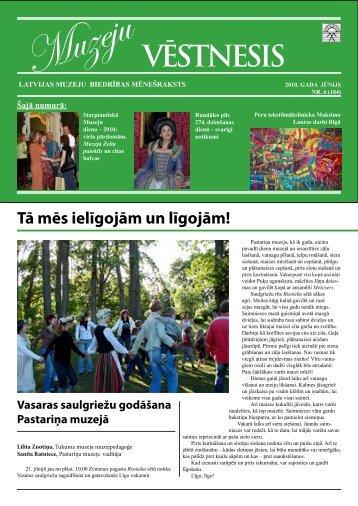 Muzeju VĒSTNESIS - Riga - Latvijas Muzeju asociācija