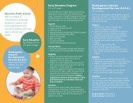 Early Education Program - Edmonton Public Schools