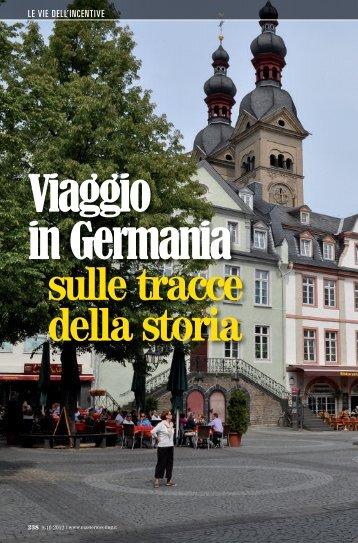 Viaggio in Germania sulle tracce della storia - Master Meeting