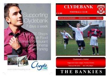11 - Clydebank Programmes Online