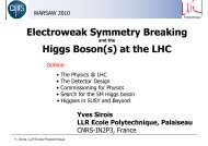 M - LHC