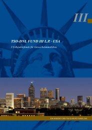 TSO-DNL FUND III L.P. · USA - Fondsvermittlung24.de