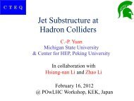 Jet Substructure at Hadron Colliders