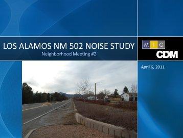 Presentation - Los Alamos County