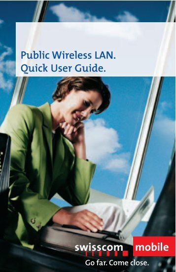 Public Wireless LAN. Quick User Guide.