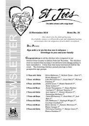 25 November 2010 News No. 36 Nga mihi o te wa kia koe me te ...