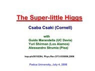 The Super-little Higgs - Infn