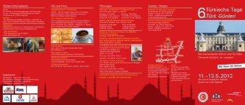 Die osmanische Kultur und ihr Erbe Osmanlı kültürü ve varisleri