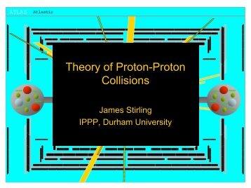 Theory of Proton-Proton Collisions
