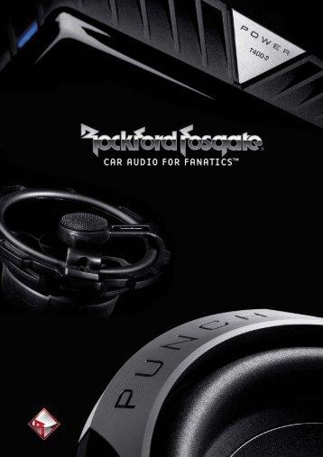 rockford fosgate - Car Hifi Audio Neuigkeiten und Infos