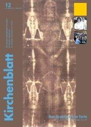 30. Mai bis 12. Juni 2010 - Kirchenblatt