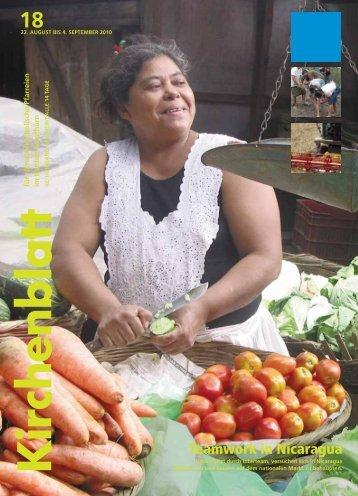 Teamwork in Nicaragua - Kirchenblatt