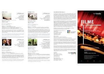 aus Niedersachsen und Bremen Films from Lower Saxony and ...