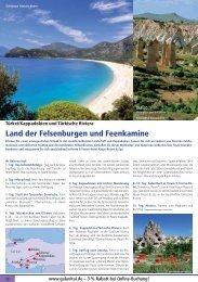 Land der Felsenburgen und Feenkamine - TravelCMS