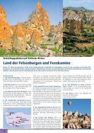 Land der Felsenburgen und Feenkamine - Travelcms.de