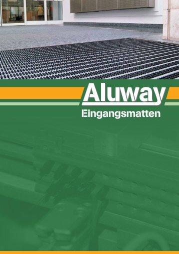 Eingangsmatten - Aluway