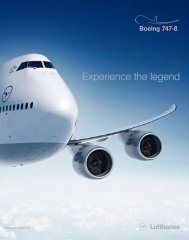 Experience the legend - Lufthansa Media Lounge: Home