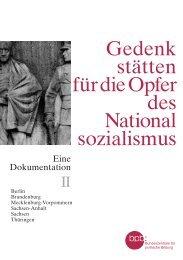 Gedenkstätten für die Opfer des Nationalsozialismus Bd II