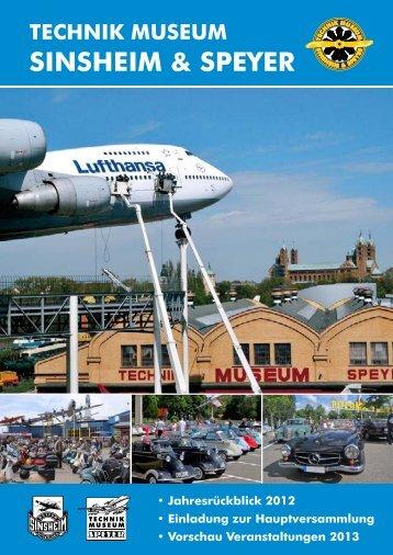 Das MuseuMsjahr 2012 - Technik Museum Sinsheim und Speyer