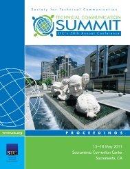 15 –18 May 2011 Sacramento Convention Center Sacramento, CA