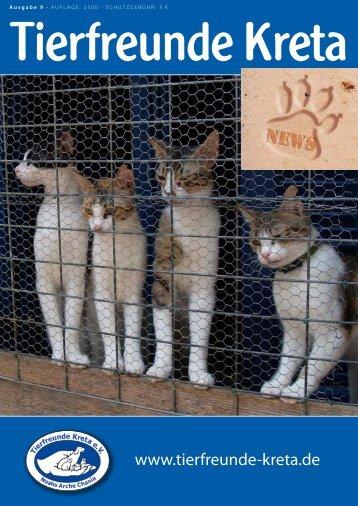 Kreta News Ausgabe 9 - Tierfreunde Kreta eV