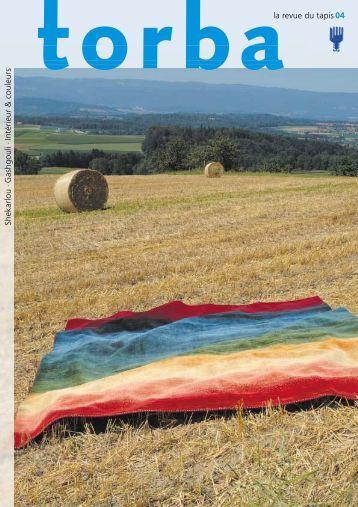 Gashgouli·Intérieur & couleurs - torba la revue du tapis