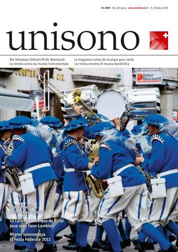 Die Schweiz im Wettbewerbsfieber Le Corps de musique de Bulle ...