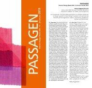 PASSAGEN Interior Design W eek Köln. 14 – 20 January