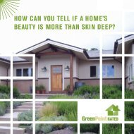 How can you tell if a Home's beauty is more tHan ... - Build It Green