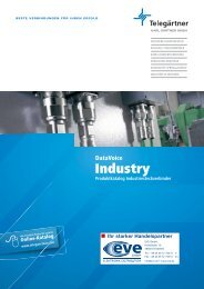 Telegärtner goes Industry - EVE GmbH