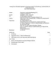 Ansätze der Gemeinsamen Agrarpolitik - Deutscher Verband für ...