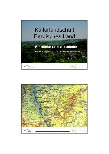 Kulturlandschaft Bergisches Land - Deutscher Verband für ...