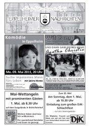 17. Woche - Eppelheim